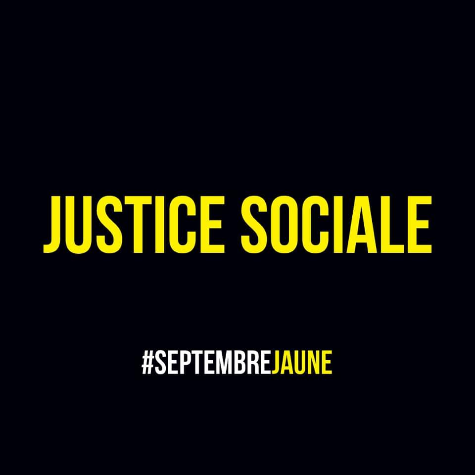 manifestation paris 12 sept gilet jaune justice sociale